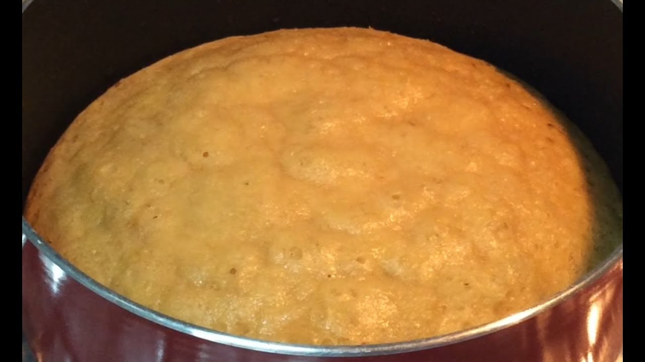 Banana Cake Without Oven Or Pressure Cooker Banana Cake