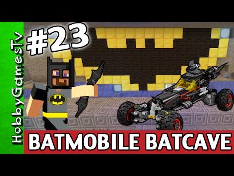 Minecraft Batcave Bat Mobile Awesome Super Fun Build Batman Logo
