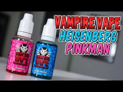 🧛♂️ VAMPIRE VAPE PINKMAN & HEISENBERG 🧛♂️