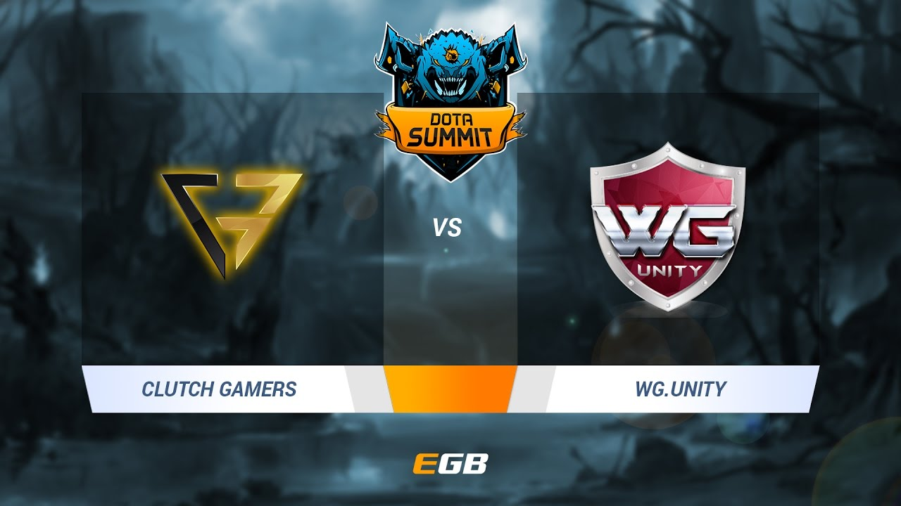 Clutch Gamers vs WG.Unity, Game 1, Dota Summit 7 SEA Qualifier