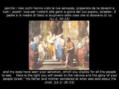 PRESENTAZIONE AL TEMPIO DI NOSTRO SIGNORE - Festa della Candelora