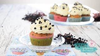 Holunderbeeren Cupcakes /von Lieblingsgeschmack