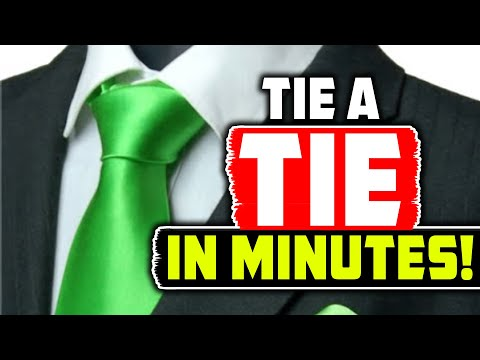 How To Tie A Tie Step By Step Easy Youtube
