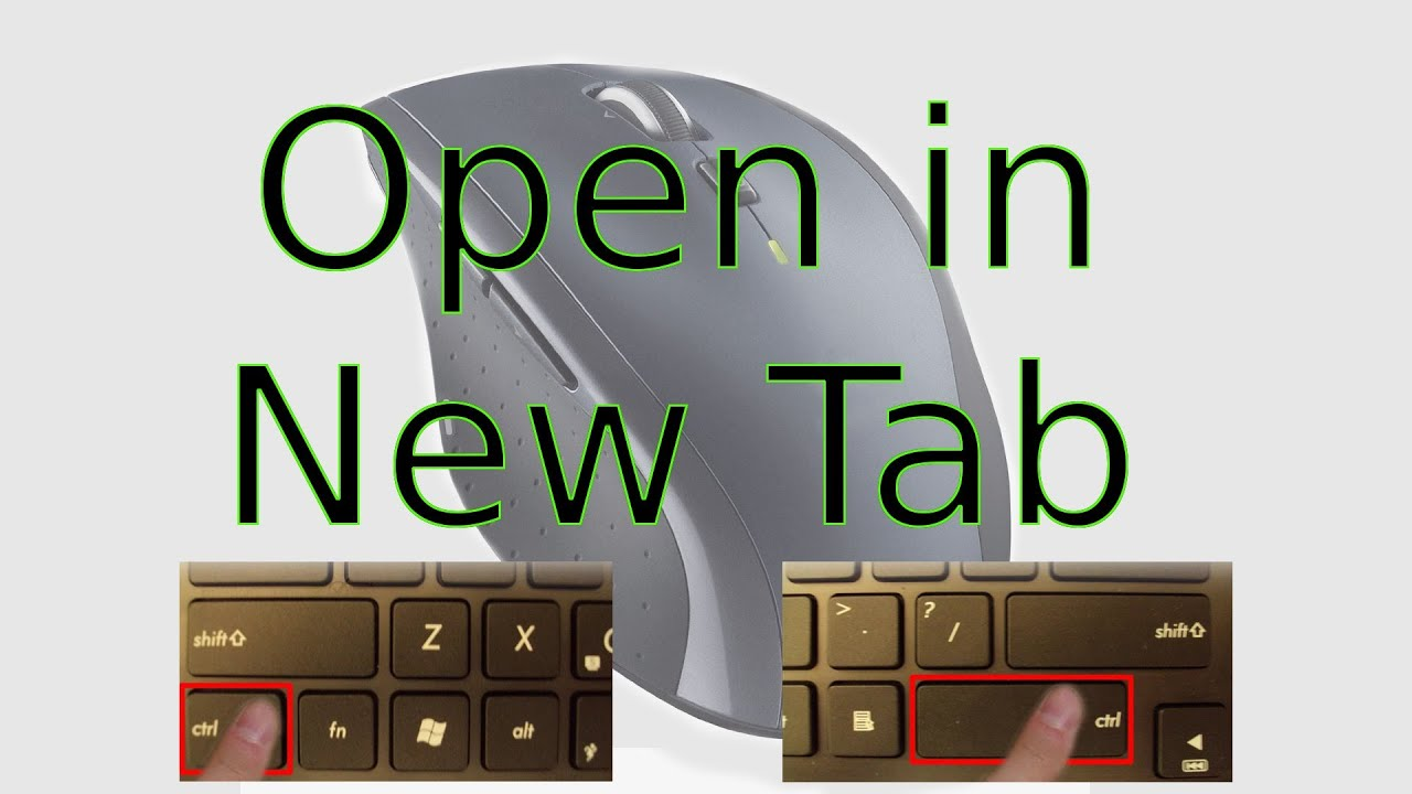 How To Open Any Link in a New Tab or Window