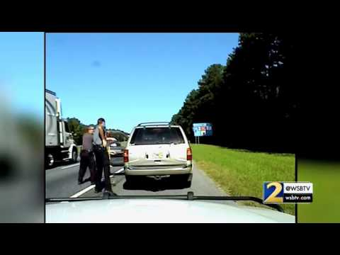 DASH CAM VIDEO: Officer-involved shooting in Bartow County