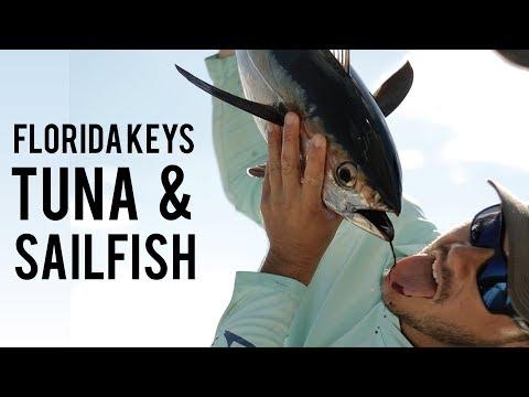 Blackfin Tuna Fishing Frenzy Florida Keys!