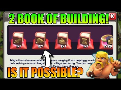 2 BOOK OF BUILDING IN 1 CLAN CASTLE | IS IT POSSIBLE? | SUNDAY Q & A | #ASKGURU