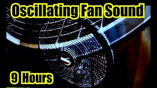 PEDESTAL FAN | Oscillating Fan Noise For Sleep with DIM SCREEN Rotating Fan