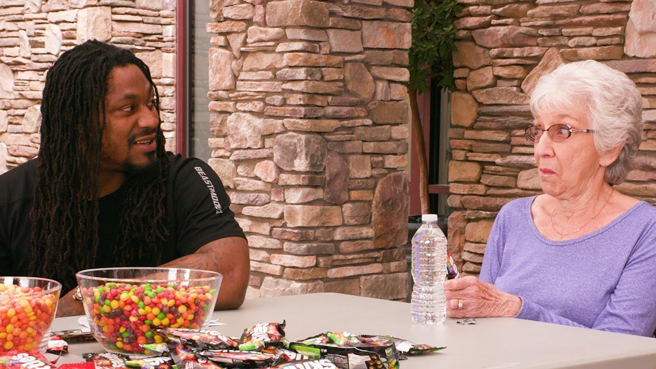 Skittles | Marshawn Lynch Brings Sweet Heat to a Senior Living Community|