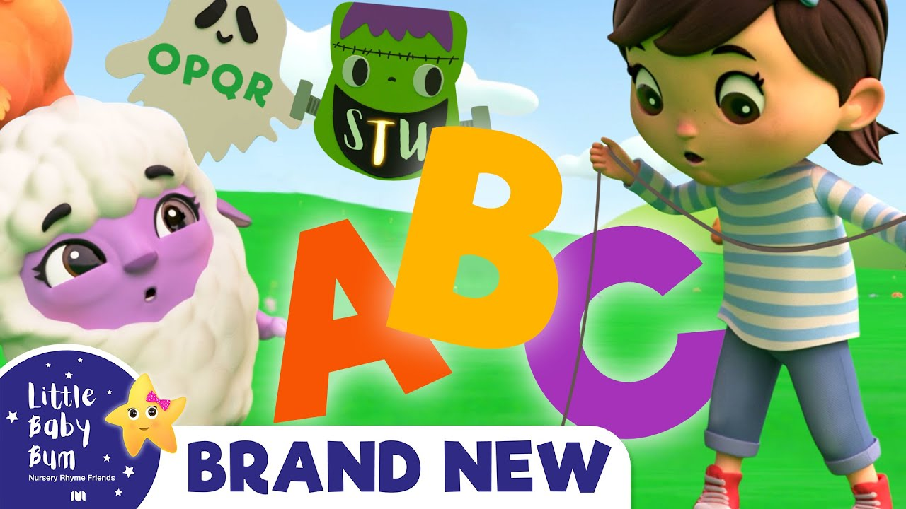 Learn ABC! Autumn Kites Song | Brand New Nursery Rhymes & Kids Songs ABC & 123 | Little Baby Bum
