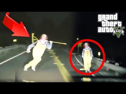 PAYASOS ASESINOS en GTA 5! - GTA V (Grand Theft Auto 5)