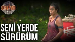 Berna Sabriye'ye Laf Attı   92. Bölüm   Survivor 2017