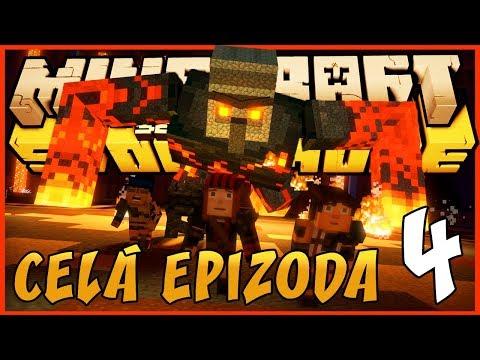 OBŘÍ LÁVOVÝ GOLEM  CELÁ 4. EPIZODA!   Minecraft Story Mode: Season 2  Pedro