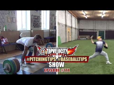 What are good rep ranges for Olympic Lifts and can you rate my pitching mechanics? Ep111
