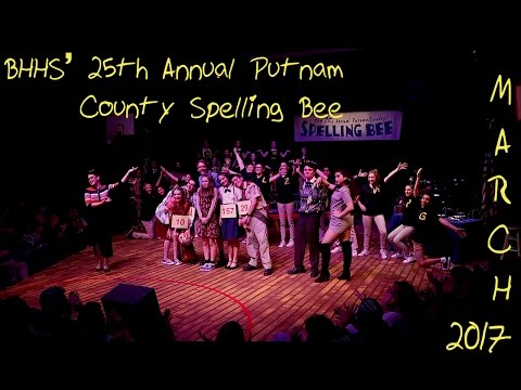 BHHS 25th Annual Putnam County Spelling Bee Saturday Night