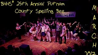 """BHHS' """"25th Annual Putnam County Spelling Bee"""" (Saturday Night)"""