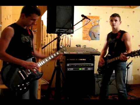 ac dc t n t cover duo guitar youtube. Black Bedroom Furniture Sets. Home Design Ideas