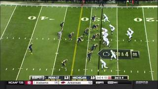 2014 Michigan football highlights vs. Penn State