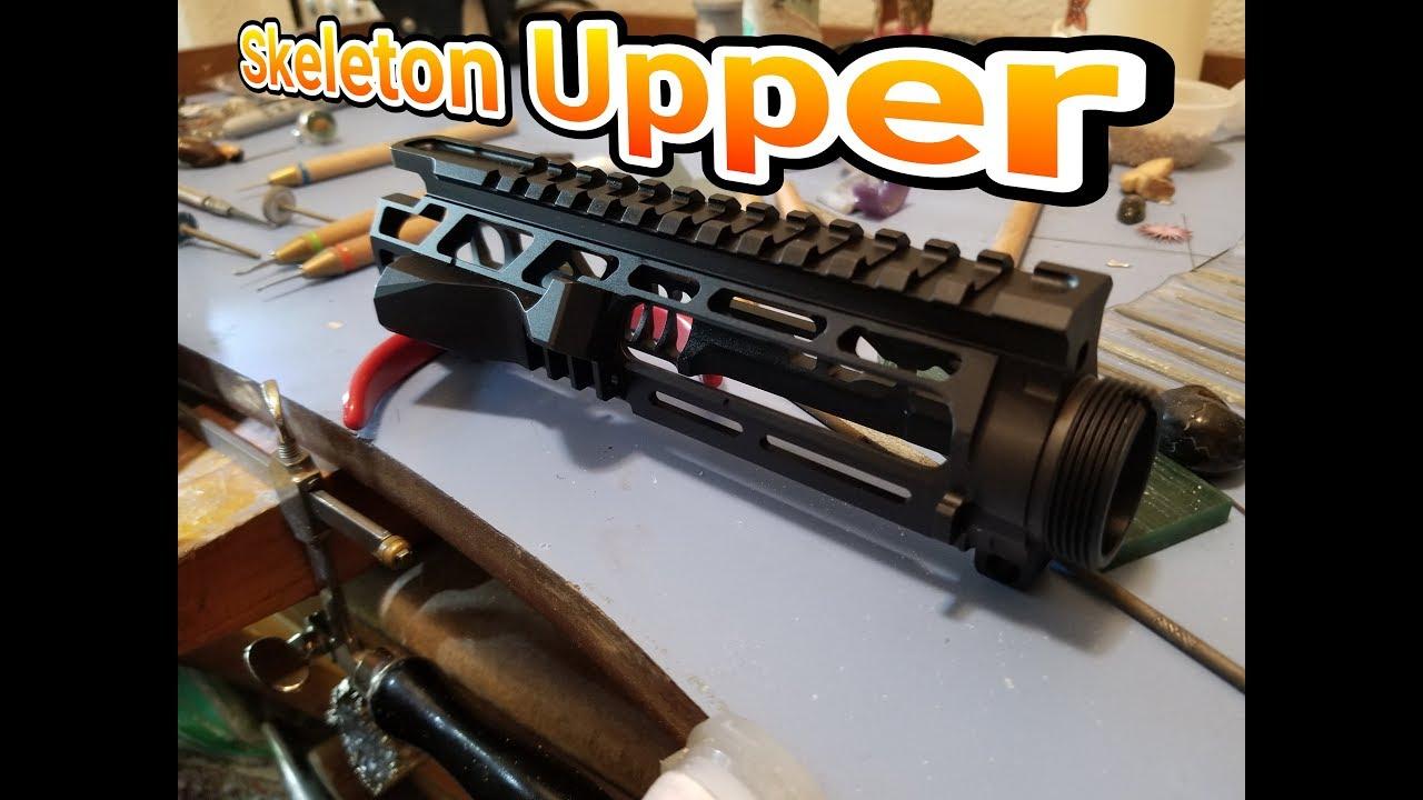 Skeleton upper receiver from weaponsmart
