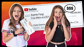 My First YOUTUBE Paycheck & How I Spent It w/ Piper Rockelle **EMOTIONAL** 💔| Sophie Fergi