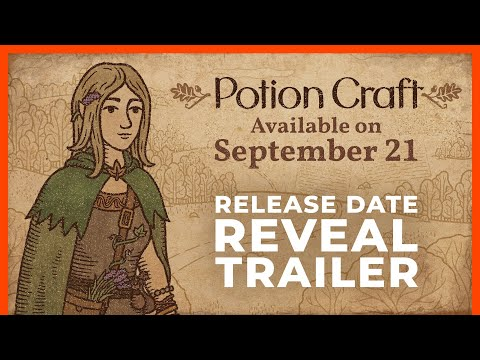 Potion Craft – Release Date Reveal Trailer