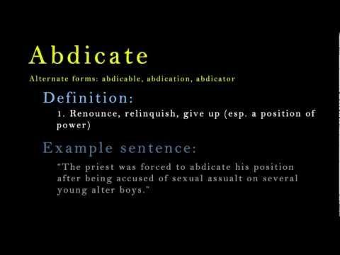 Header of abase