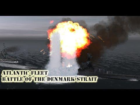 Atlantic Fleet (PC) Battle of The Denmark Strait