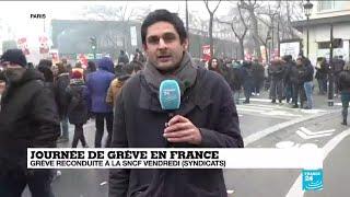 Journée de grève en France : des milliers de personnes mobilisées
