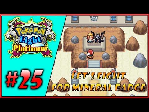 My First Lauren Region Gym Badge🤩   Let's Play Pokemon Light Platinum EP25 In Hindi