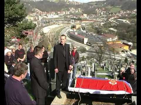 Boško Radonjić  SAHRANA 02.04.2011