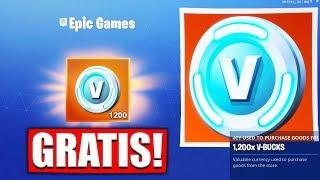 1,200 FREE V-BUCKS! 😱 Epic Games Apologizes | Fortnite Battle Royale