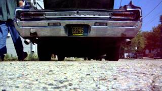 6.2 diesel barking through straight pipes !!! the car , 1964 olds dynamic 88 .