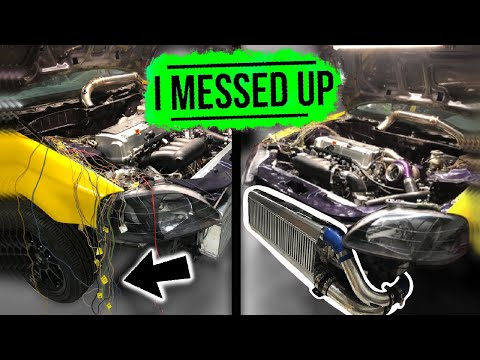 Pt.6 | LAMBO KILLER BUILD | 600HP AWD TURBO HONDA CIVIC | DYNO READY?
