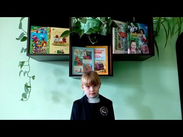 Изображение предпросмотра прочтения – АннаСтепанченко читает отрывок изпроизведения «Вот север, тучи нагоняя…» А.С.Пушкина