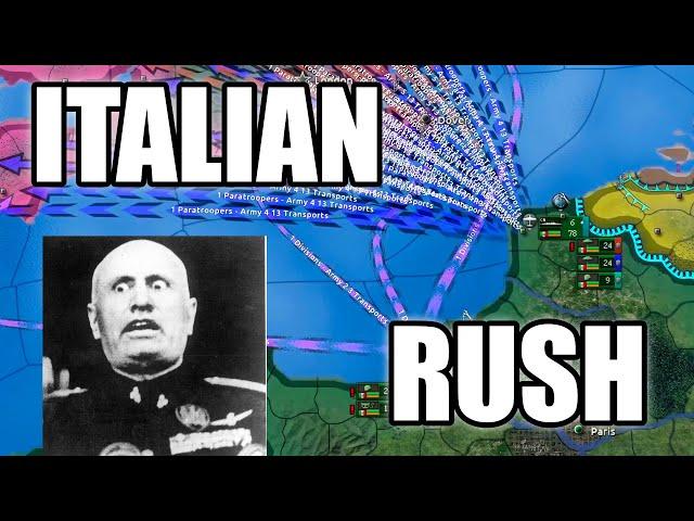 Italian Rush takes over the world