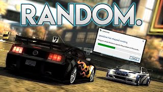 Random Mods in NFS Most Wanted [Cars, Physics, Effects]
