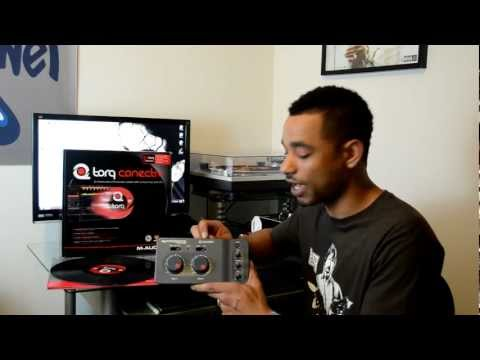 M-Audio Conectiv With Torq 2.0 DVS Digital Vinyl System Review Video