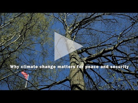 SIPRI Reflection: Climate change, peace and security