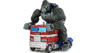 Transformers WFC Kingdom Beast Optimus Primal Truck Optimus …