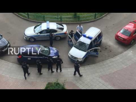 Russia: Police detain Navalny in Moscow ahead of unauthorised rally *PHOTO*