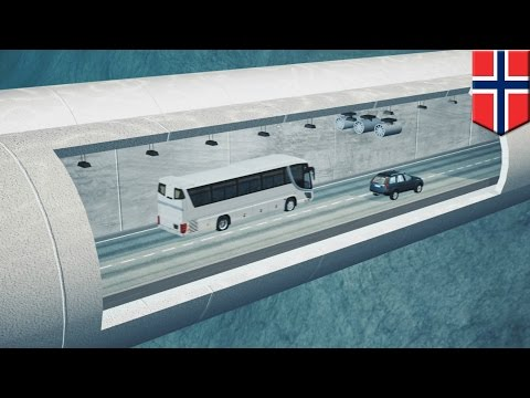 Floating underwater tunnels: Norway earmarks $25bn for floating submerged tunnel plan - TomoNews