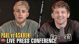 JAKE PAUL VS BEN ASKREN FULL FINAL PRESS CONFERENCE