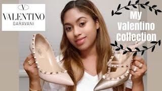 Valentino Rockstud Collection!| Valentino haul| Review