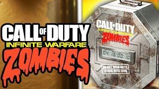 INFINITE WARFARE ZOMBIES REVEAL DATE! *NEW* STORYLINE TEASERS! (COD Infinite Warfare Zombies)