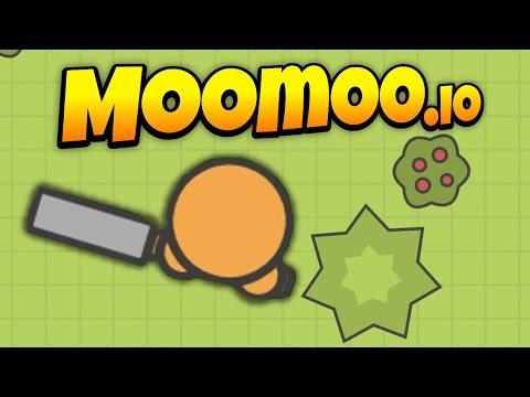 MooMoo.io - No Base Challenge! - Top of Leaderboard! - Let's Play MooMoo.io Gameplay