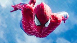 Spidey Free-Fall Swinging Opening Scene - THE AMAZING SPIDER-MAN 2 (2014) Movie Clip