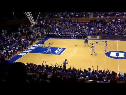 Grayson Allen Throws Down A Dunk At Countdown To Craziness