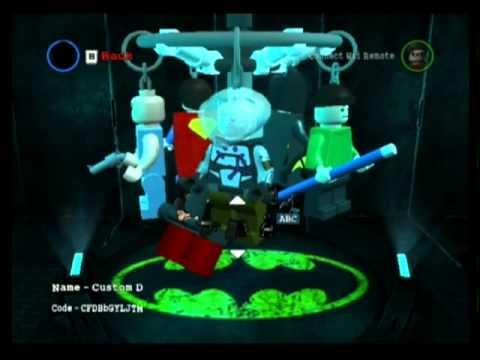Lego Batman 2 Dc Superheroes Walkthrough Character Customization Youtube