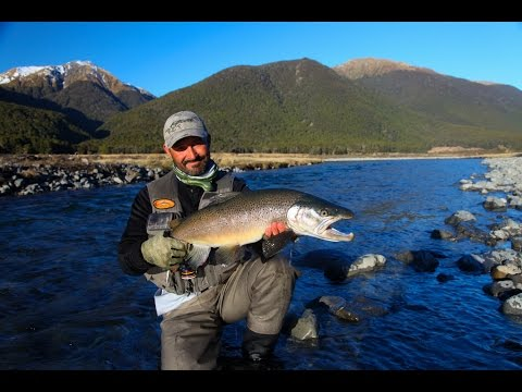 Fly fishing New Zealand 'Erasing the winter blues'