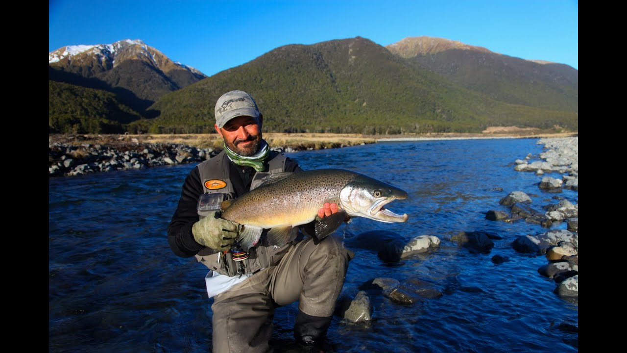 Fly fishing new zealand 39 erasing the winter blues 39 youtube for New zealand fly fishing